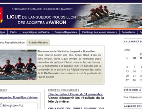 Portail de la Ligue d'Aviron Languedoc Roussillon