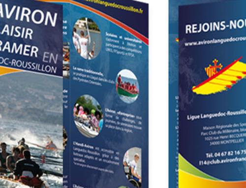 Plaquette Ligue d'Aviron Languedoc Roussillon