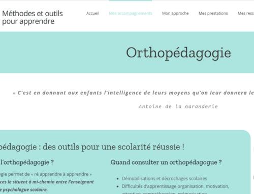 Méthodes et outils pour apprendre – Graphothérapeute et Orthopédagogue