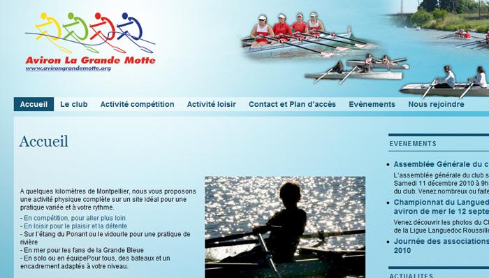 ACP la Grande motte – Club d'aviron sur La Grande Motte