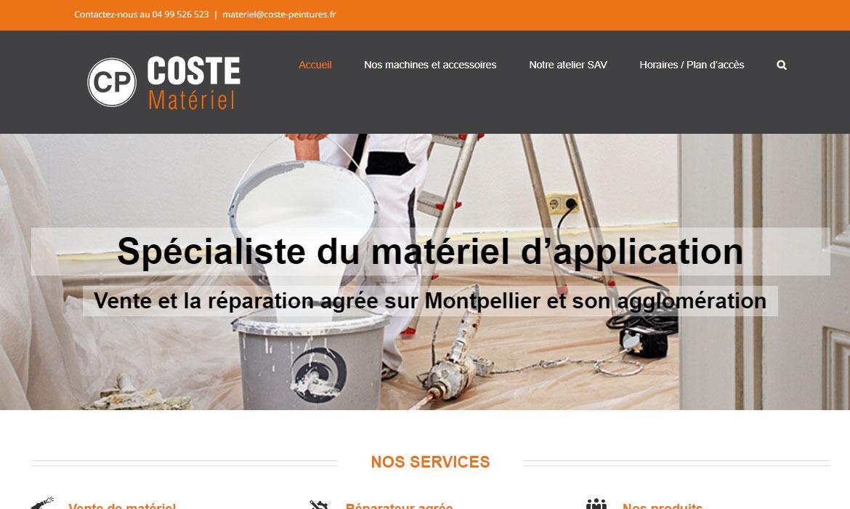 Site Coste Matériel : vente et la réparation agrée sur Montpellier et son agglomération